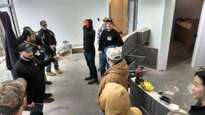 Milnes Construction Conducted an Industry Visit for Johnson College Carpentry Students