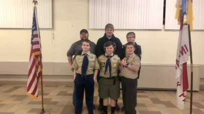 Milnes Conducts Boy Scouts Survey Merit Badge Course