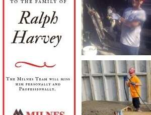Milnes Remembers Ralph Harvey
