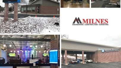 Milnes Completes Construction on Cross Valley Federal Credit Union